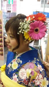 葵胡ちゃん生花